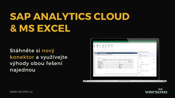To nejlepší z Microsoft Office a SAP Analytics Cloud