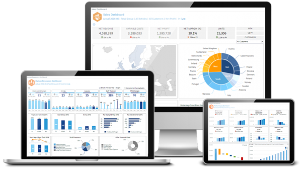 Jedox - Business Intelligence, plánování a reporting pro SAP Business One